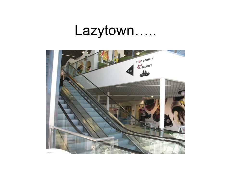 Lazytown…..