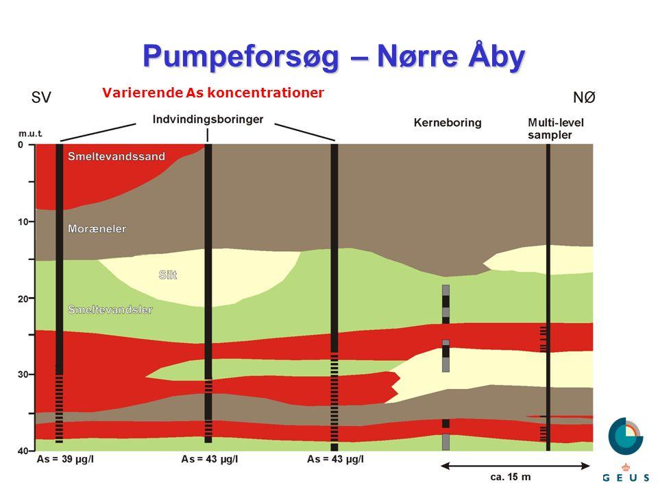 Pumpeforsøg – Nørre Åby