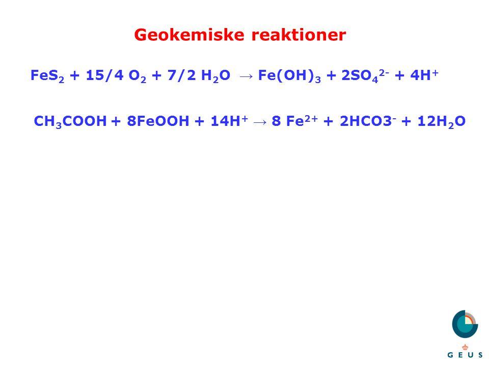 Geokemiske reaktioner