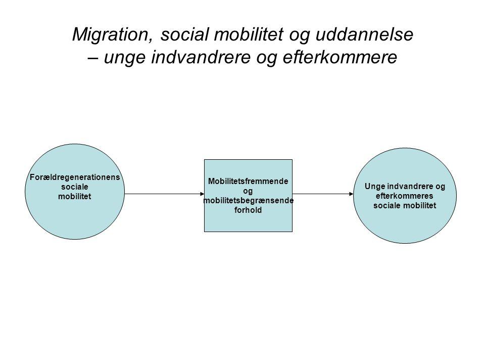 Forældregenerationens mobilitetsbegrænsende