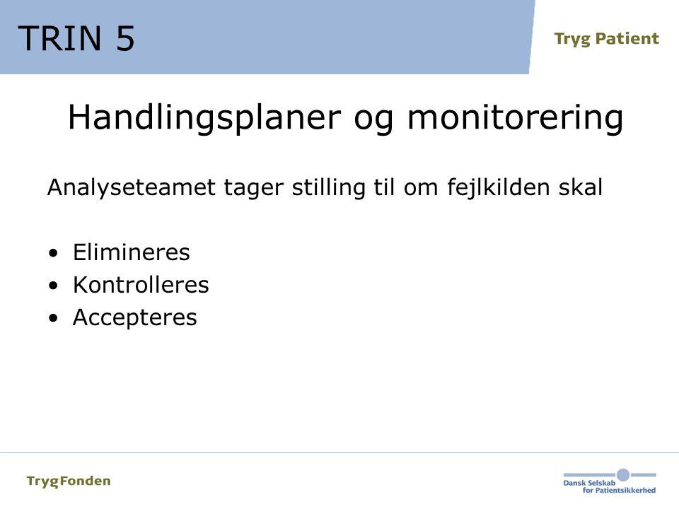 Handlingsplaner og monitorering