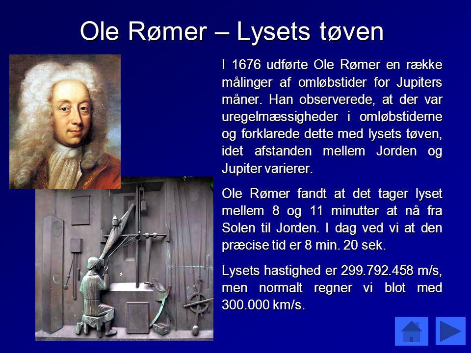Ole Rømer – Lysets tøven