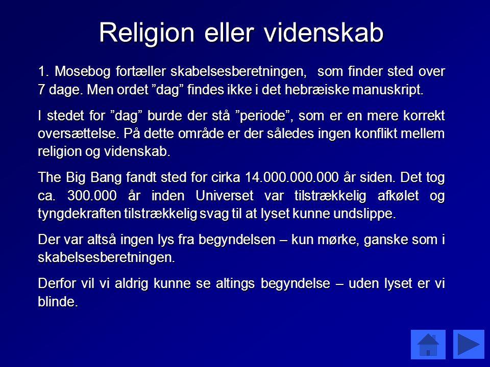 Religion eller videnskab