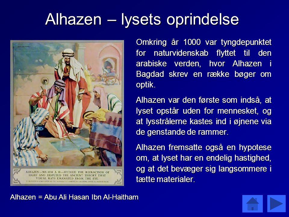 Alhazen – lysets oprindelse