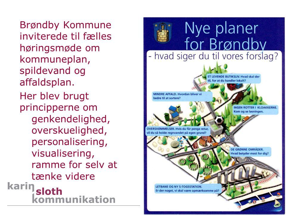 Brøndby Kommune inviterede til fælles høringsmøde om kommuneplan, spildevand og affaldsplan.