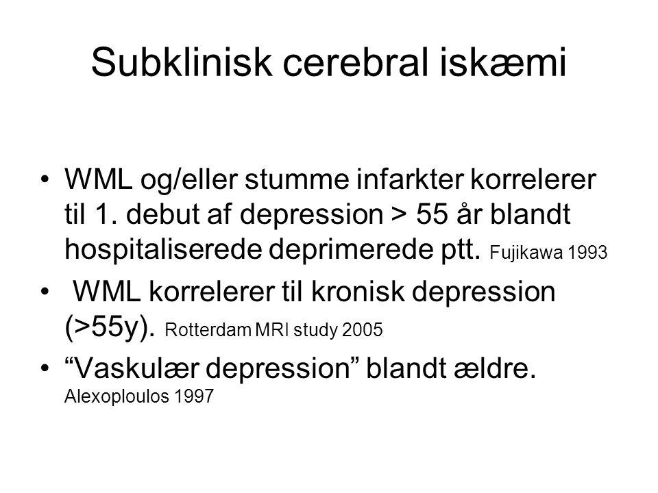 Subklinisk cerebral iskæmi