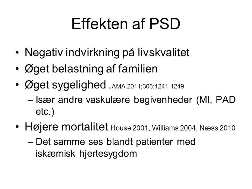 Effekten af PSD Negativ indvirkning på livskvalitet