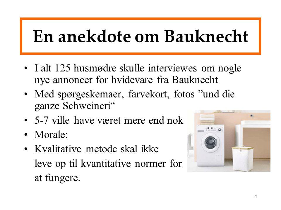 En anekdote om Bauknecht