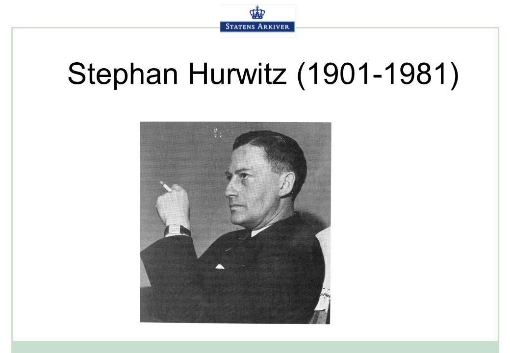 Stephan Hurwitz (1901-1981)