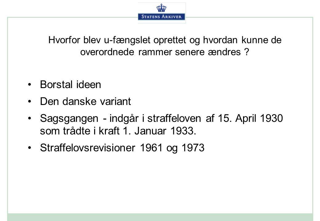 Straffelovsrevisioner 1961 og 1973