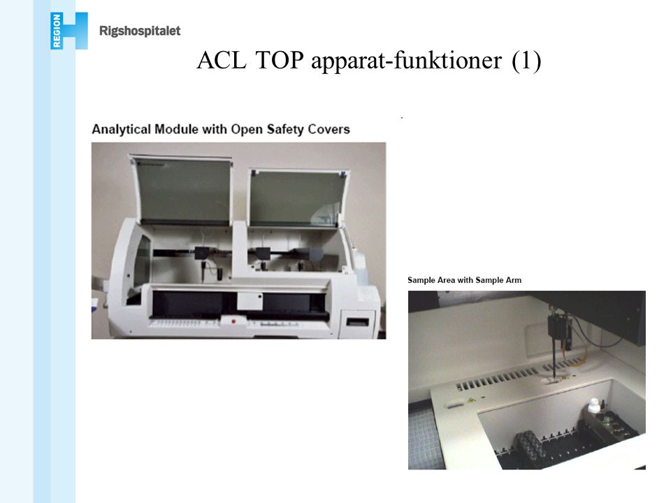ACL TOP apparat-funktioner (1)