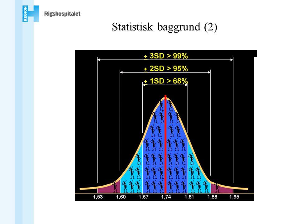 Statistisk baggrund (2)