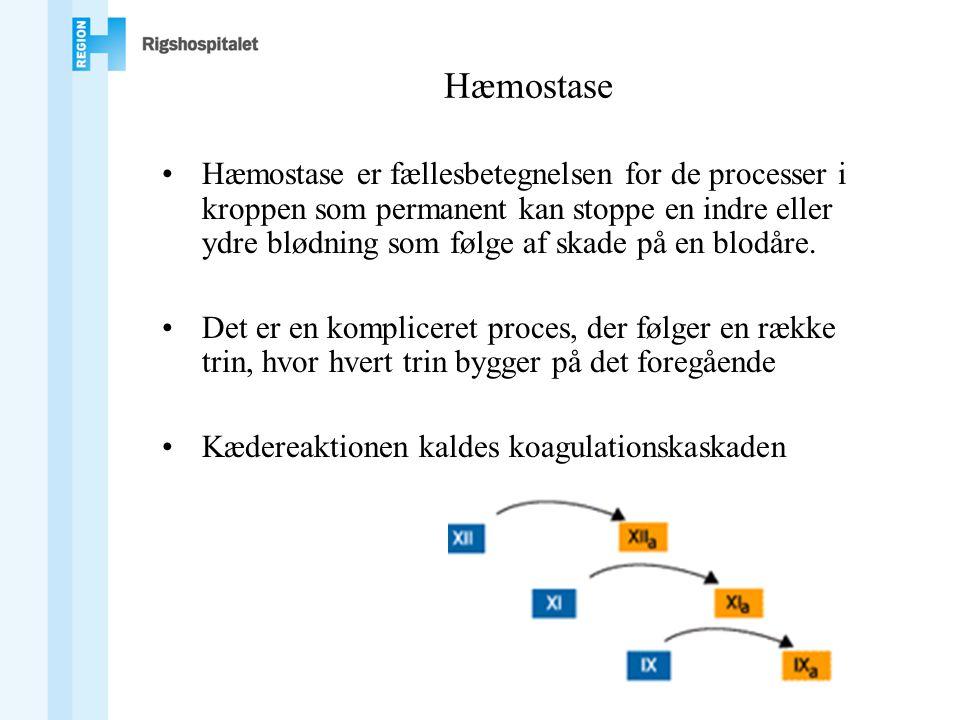 Hæmostase