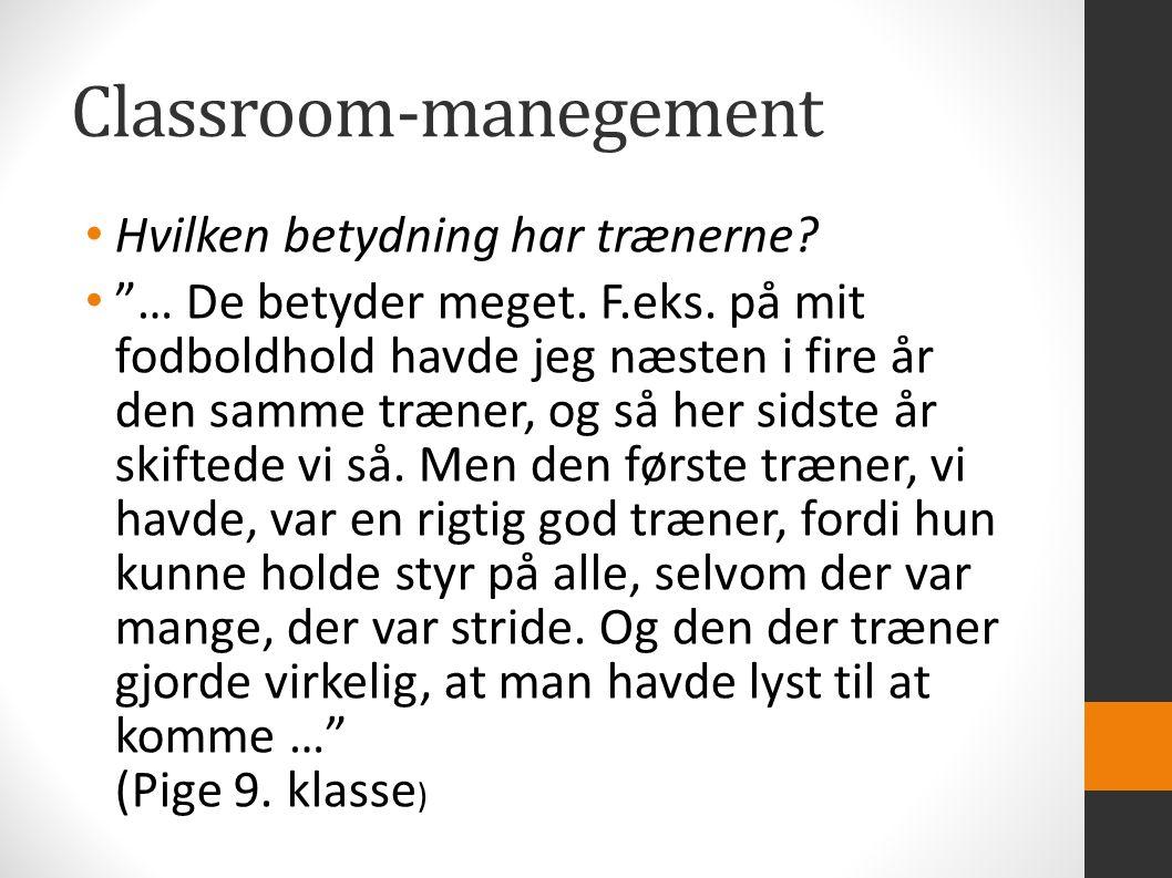 Classroom-manegement