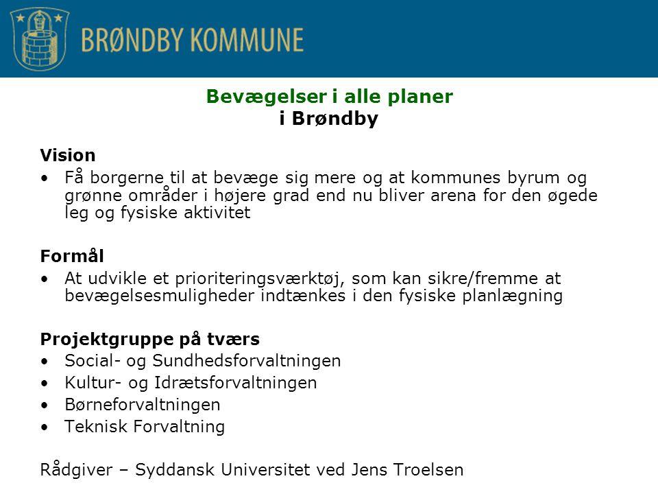 Bevægelser i alle planer i Brøndby