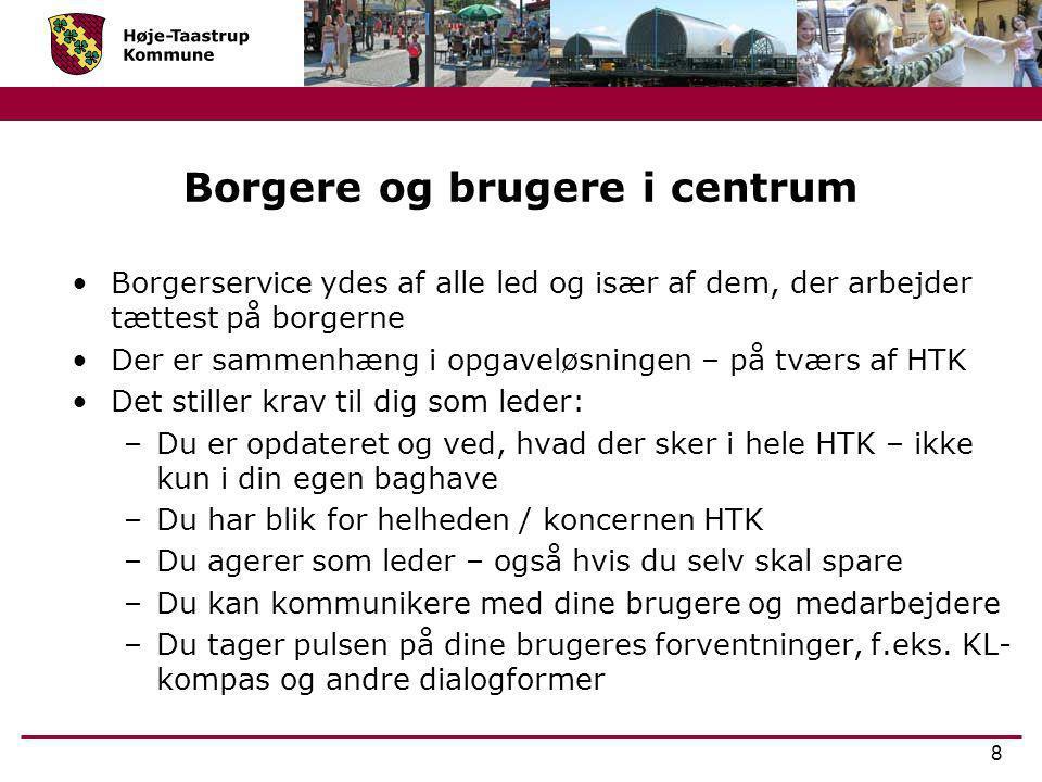 Borgere og brugere i centrum