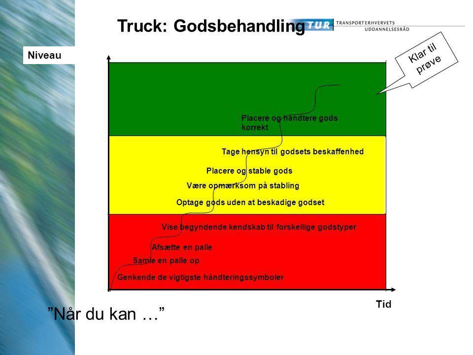 Truck: Godsbehandling