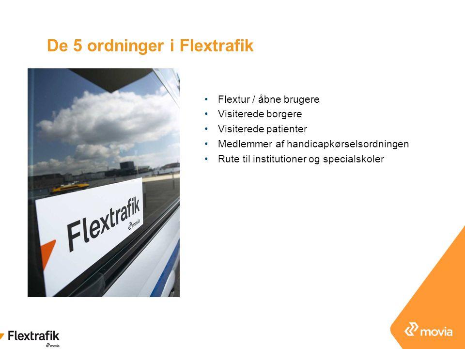 De 5 ordninger i Flextrafik