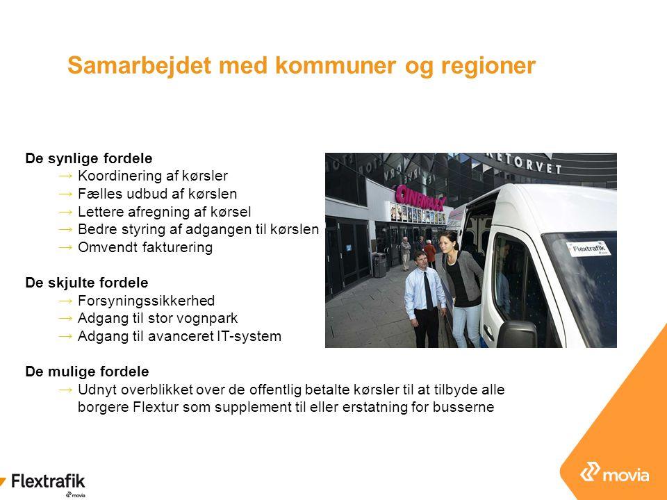 Samarbejdet med kommuner og regioner