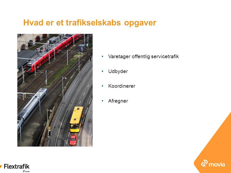 Hvad er et trafikselskabs opgaver
