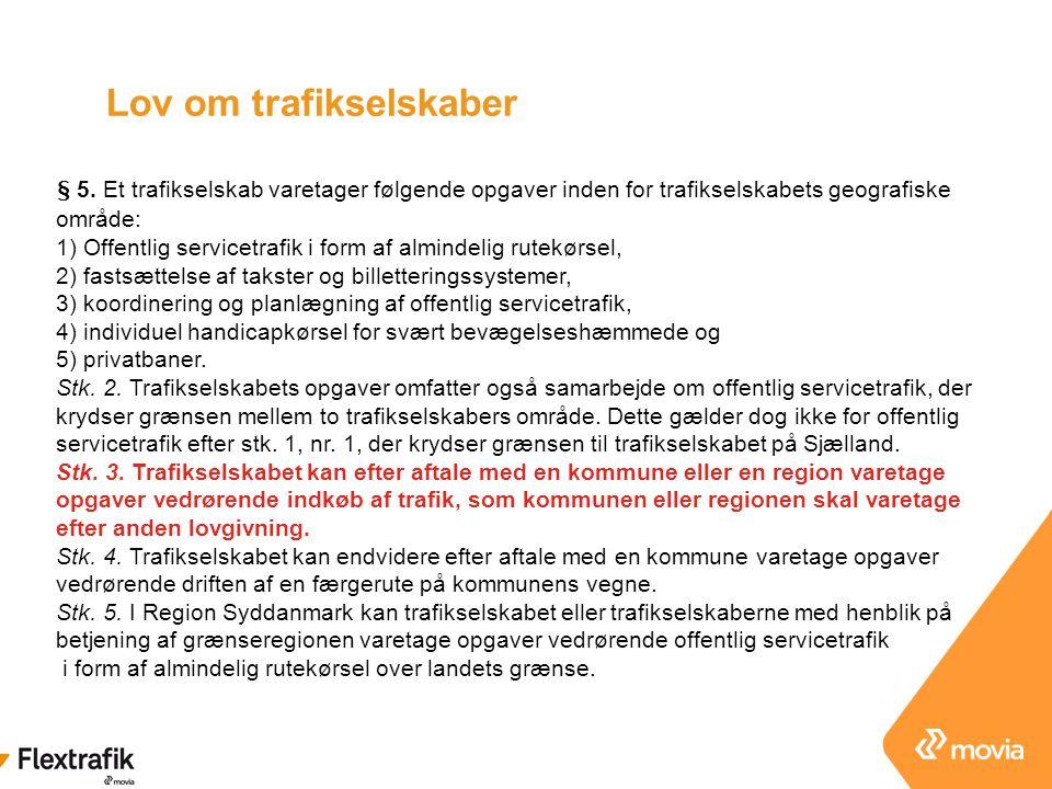 Lov om trafikselskaber