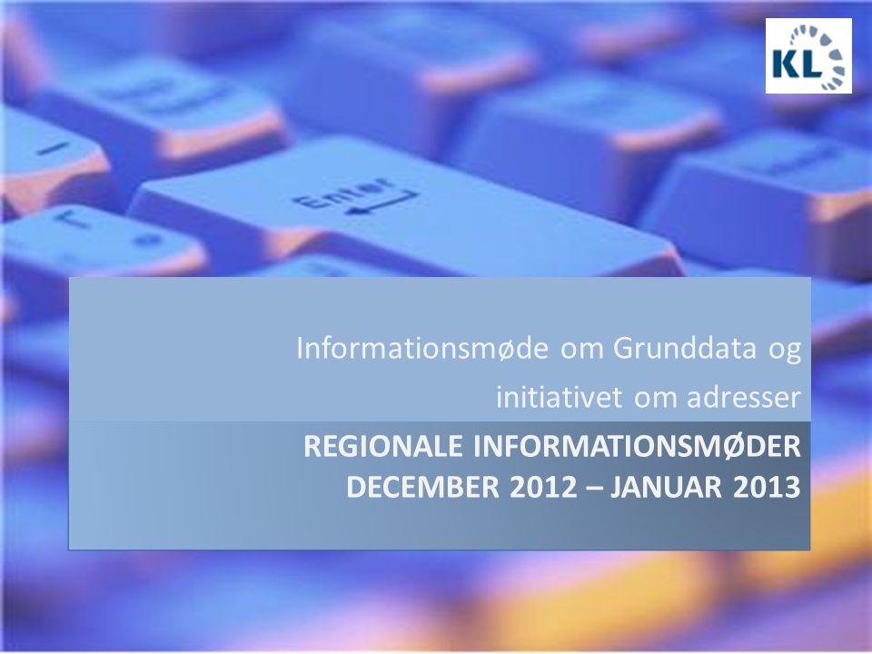 Informationsmøde om Grunddata og