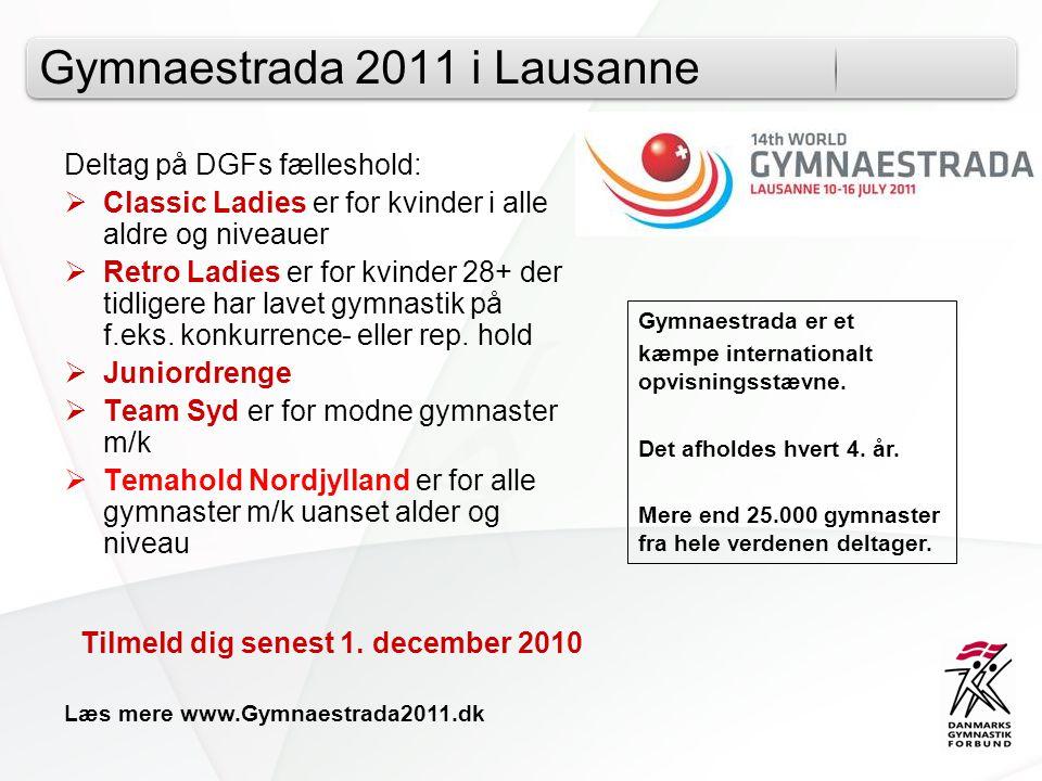 Gymnaestrada 2011 i Lausanne