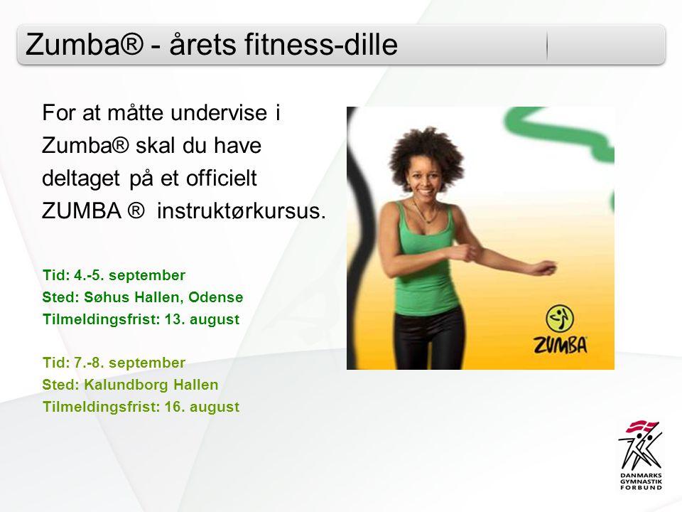 Zumba® - årets fitness-dille