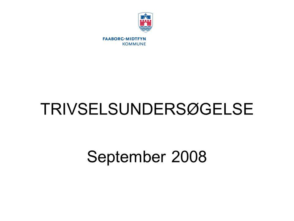 TRIVSELSUNDERSØGELSE September 2008