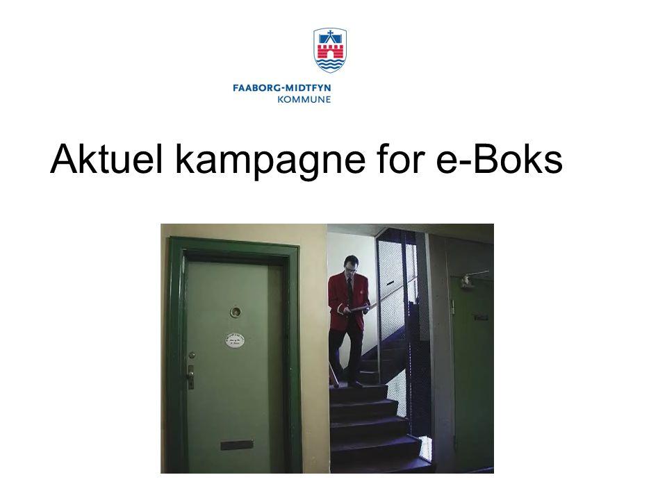 Aktuel kampagne for e-Boks
