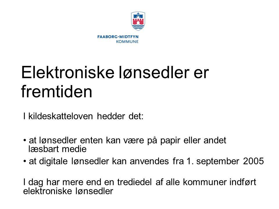 Elektroniske lønsedler er fremtiden