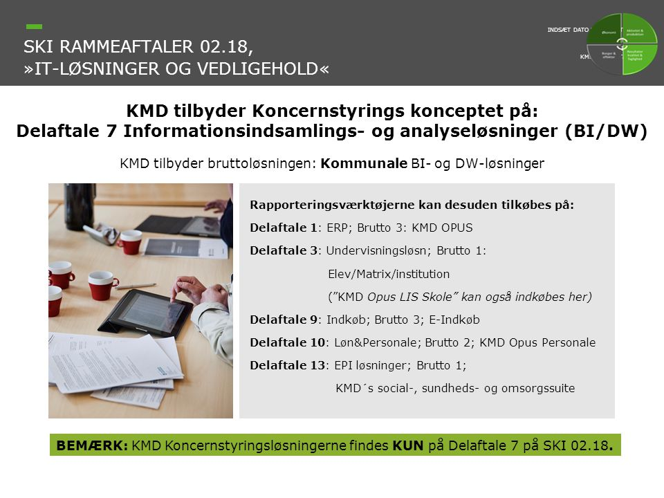 SKI Rammeaftaler 02.18, »IT-løsninger og vedligehold«