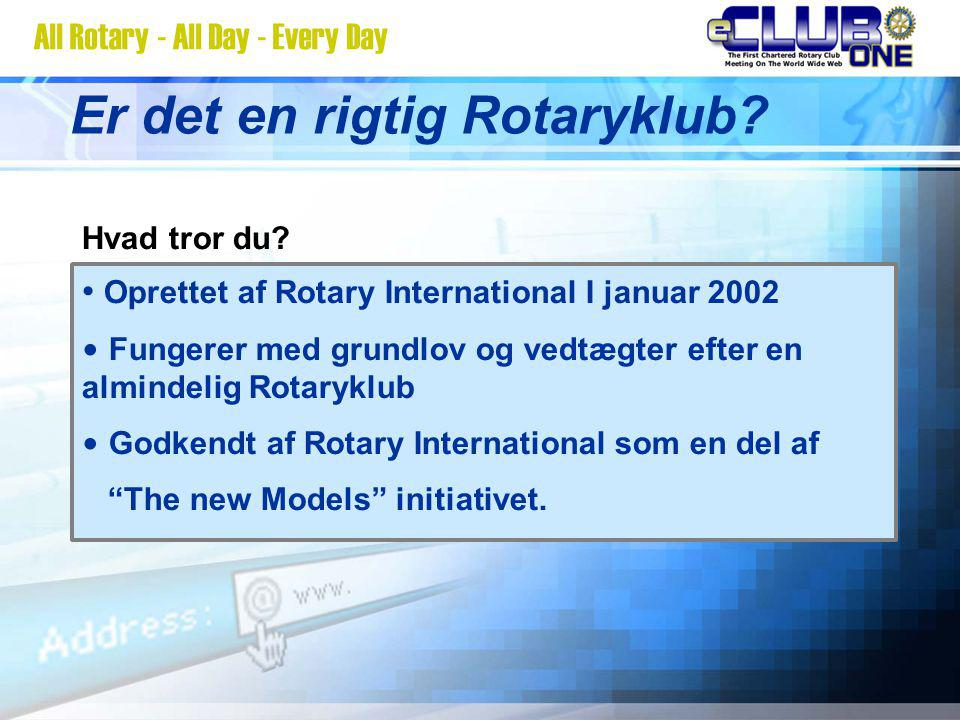 Er det en rigtig Rotaryklub