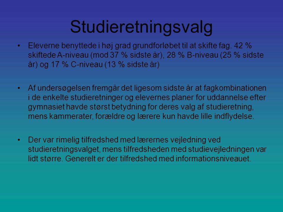 Studieretningsvalg