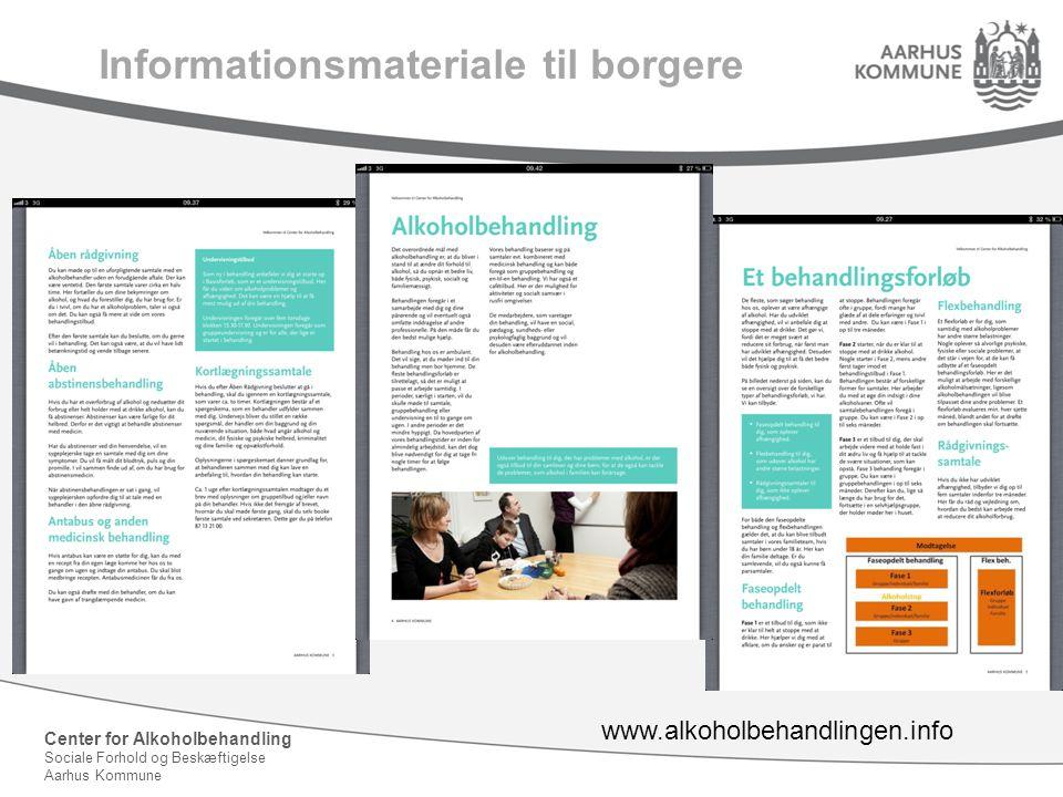 Informationsmateriale til borgere