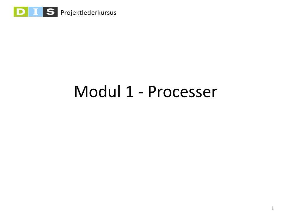 Modul 1 - Processer