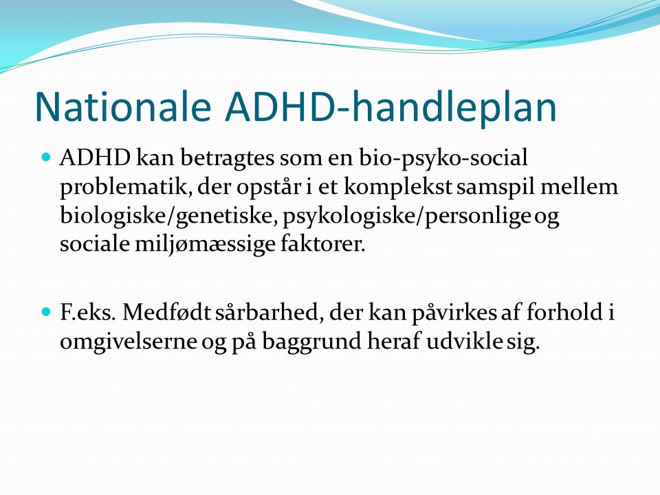 Nationale ADHD-handleplan