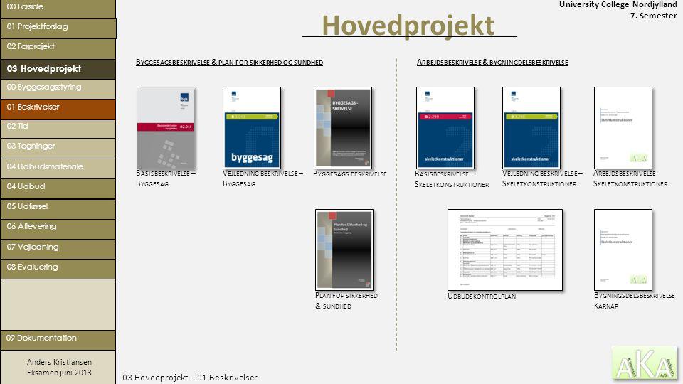 03 Hovedprojekt – 01 Beskrivelser