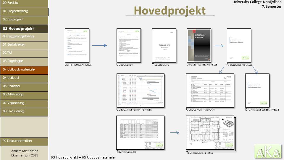 03 Hovedprojekt – 05 Udbudsmateriale