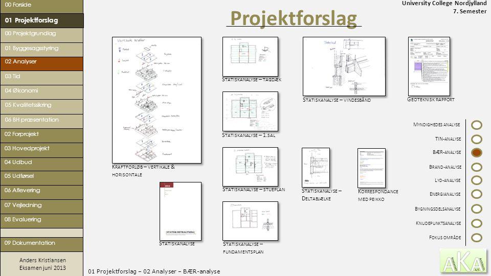 01 Projektforslag – 02 Analyser – BÆR-analyse