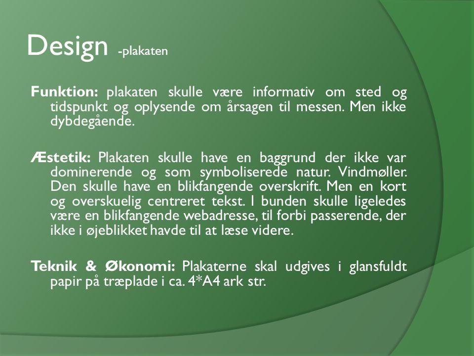 Design -plakaten