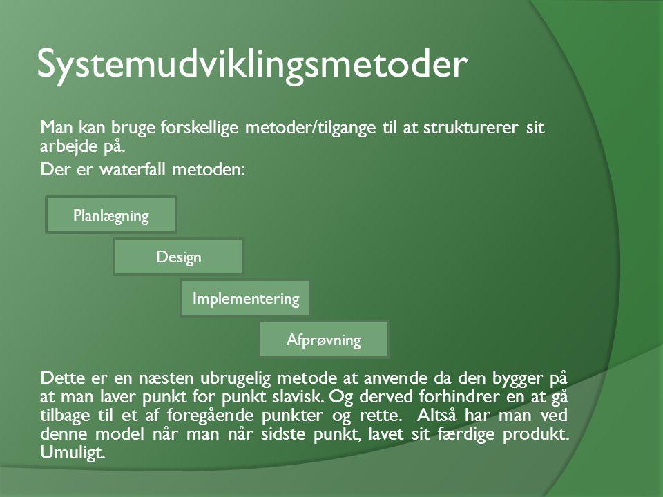 Systemudviklingsmetoder