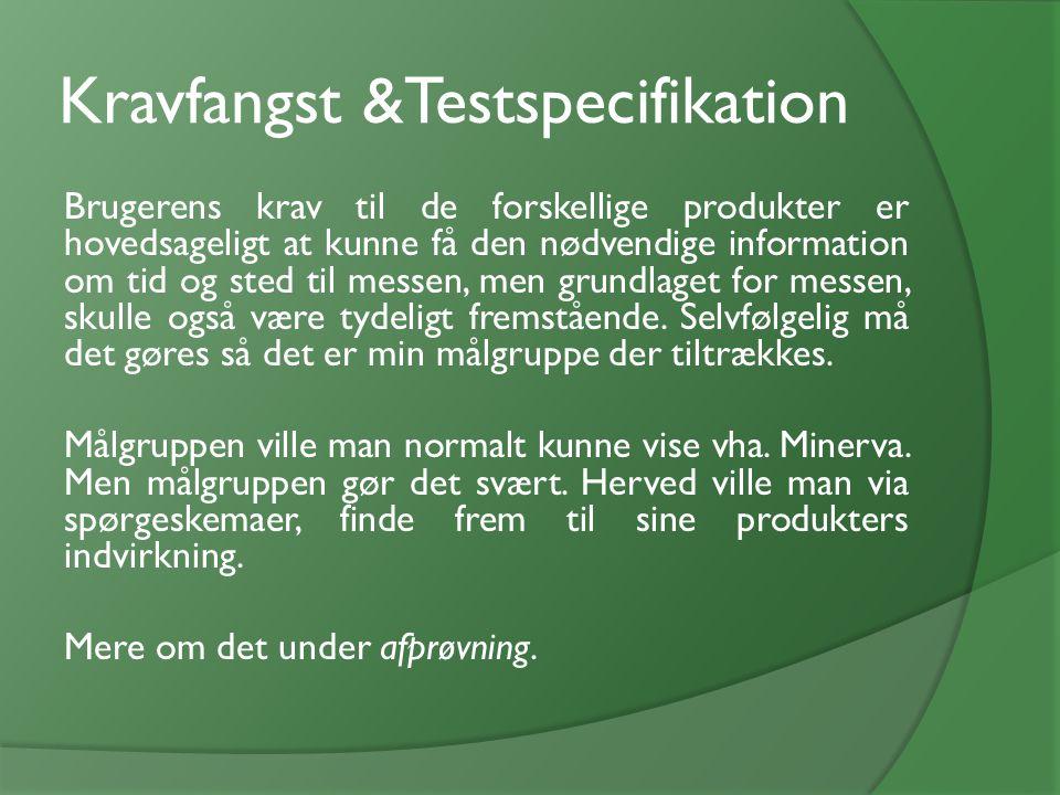 Kravfangst &Testspecifikation