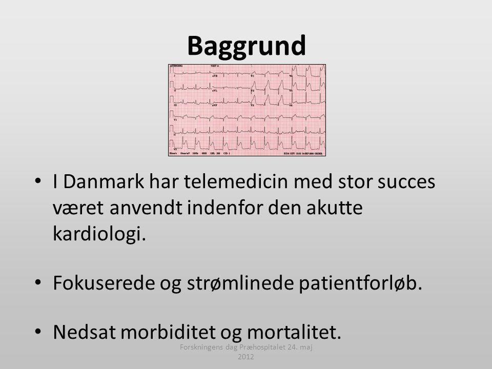 Forskningens dag Præhospitalet 24. maj 2012