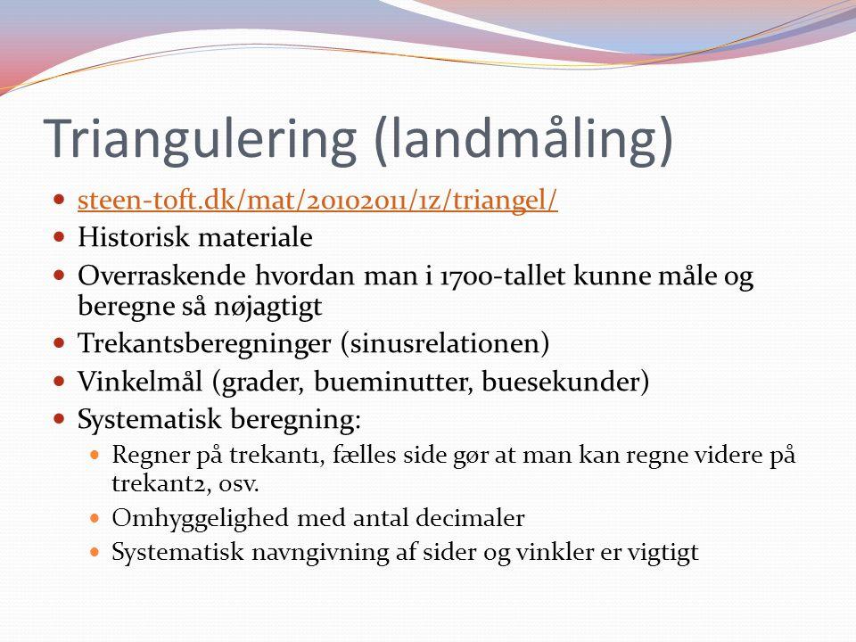 Triangulering (landmåling)