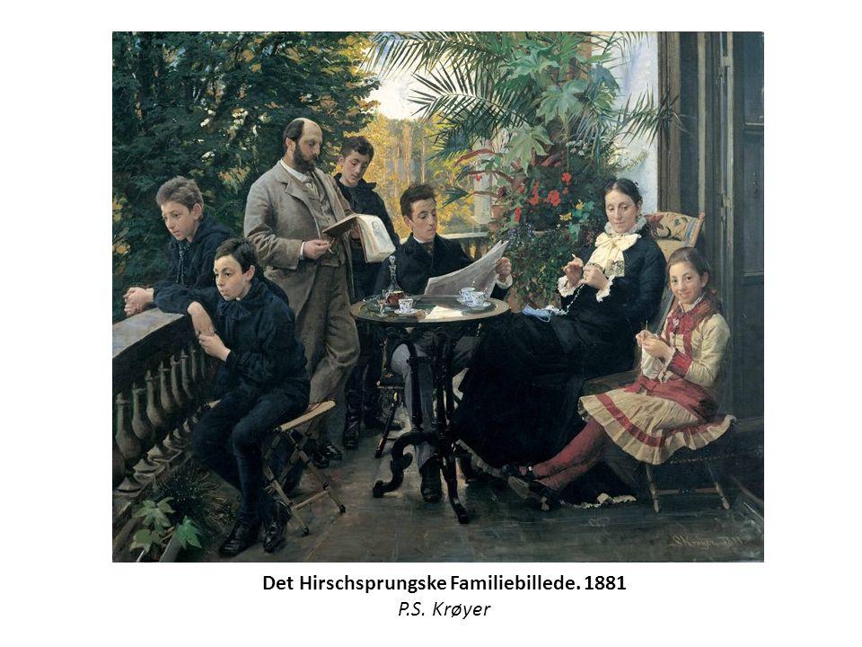 Det Hirschsprungske Familiebillede. 1881 P.S. Krøyer