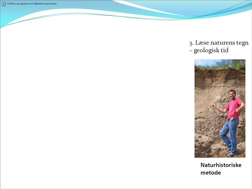 3. Læse naturens tegn – geologisk tid