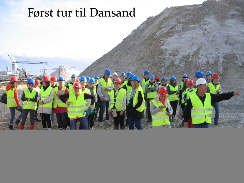 Først tur til Dansand