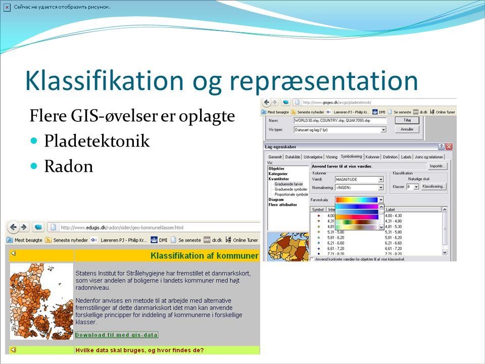 Klassifikation og repræsentation