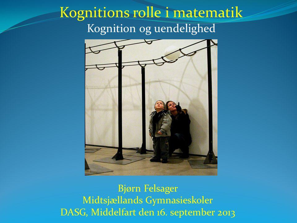 Kognitions rolle i matematik